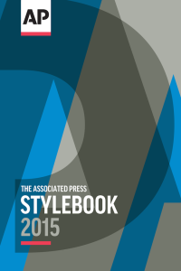 Improve your business content with The AP Stylebook 2015