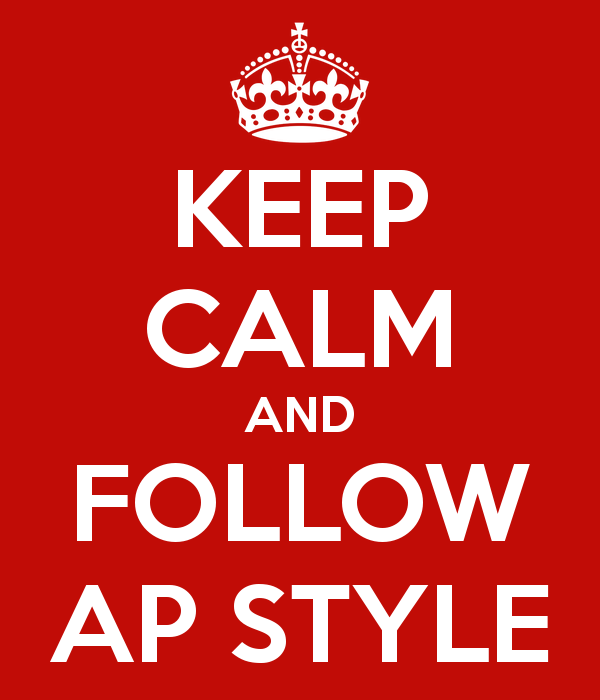 """My Blog Editor blog post """"5 tips for corporate communicators on breaking AP Stylebook rules"""""""